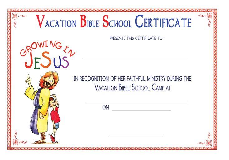 vbs certificate templatesencephalos com