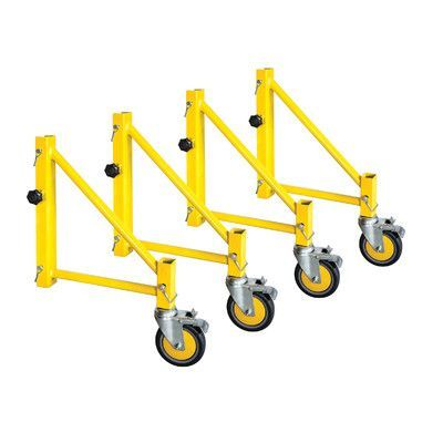MetalTech Jobsite Series Steel Perry Style Scaffold Outriggers