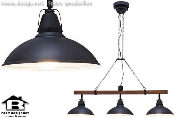 Pendant Light 【rdn】VARASTOペンダントライトBK 木目照明北欧モダン3灯 インテリア 雑貨 家具 Modern ¥22000yen 〆05月15日