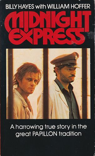 Midnight Express (1978)this is one of the most powerful prison films I have ever seen ....the script was written by a very young Oliver Stone who would go on to become the director we all know.