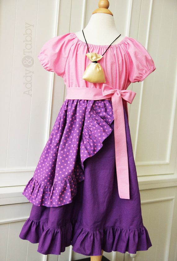 Everyday Princess Izzy / jake and the neverland pirates, dress-up, costume on Etsy, $80.00