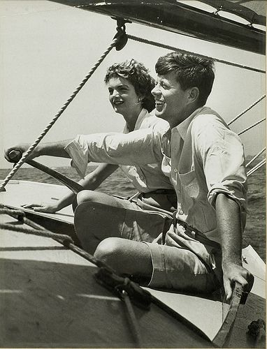 jack and jackie kennedy sailing by allison1709792, via Flickr