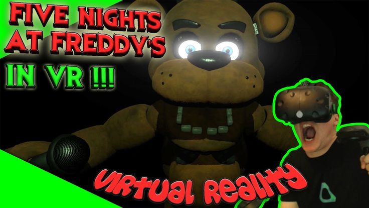 Vive Nights at Freddy's - FNaF in VR! Schocker kurz vor Halloween! [Gameplay][Vive][Virtual Reality] by VoodooDE