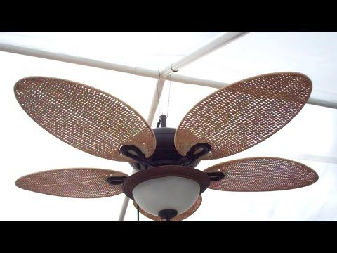 Replacing Ceiling Fan Blades - YouTube