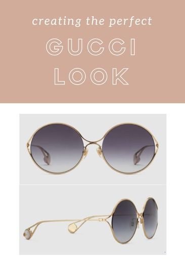 bc9626cf145 Beautiful Gucci Round Sunglasses  gucci  guccisunglasses   fashion   ShopStyle  shopthelook  SpringStyle  Ad  SummerStyle  MyShopStyle