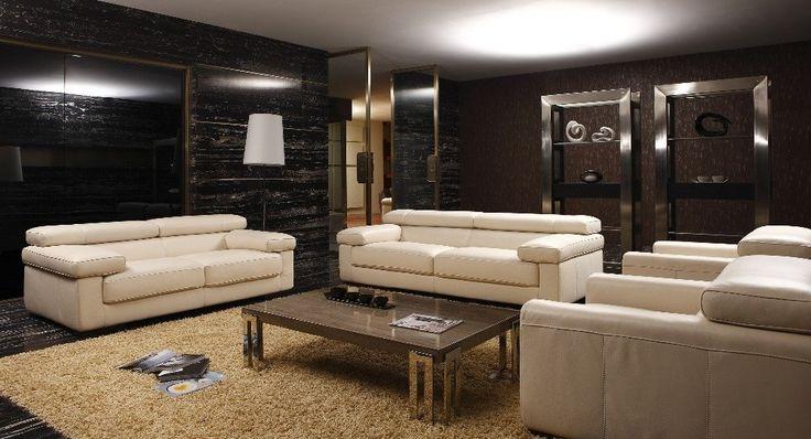 cow genuine/real leather sofa set living room sofa sectional/corner sofa set