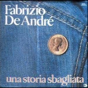 Fabrizio De André Una storia sbagliata album