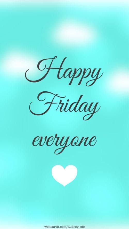 Un felice #venerdì a tutti voi! #HappyFriday