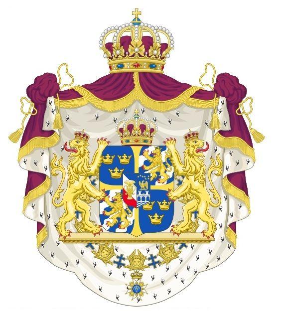 تصاویر برگزیده و نشان شخصی اعضای خانواده سلطنتی سوئد - SwedenFarsi