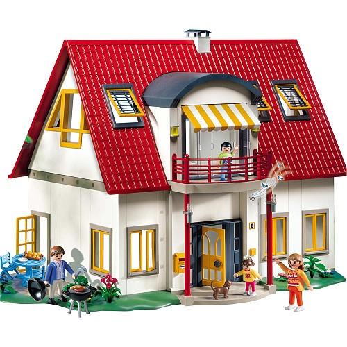 17 best ideas about playmobil on pinterest diy dollhouse for Casa moderna 4279