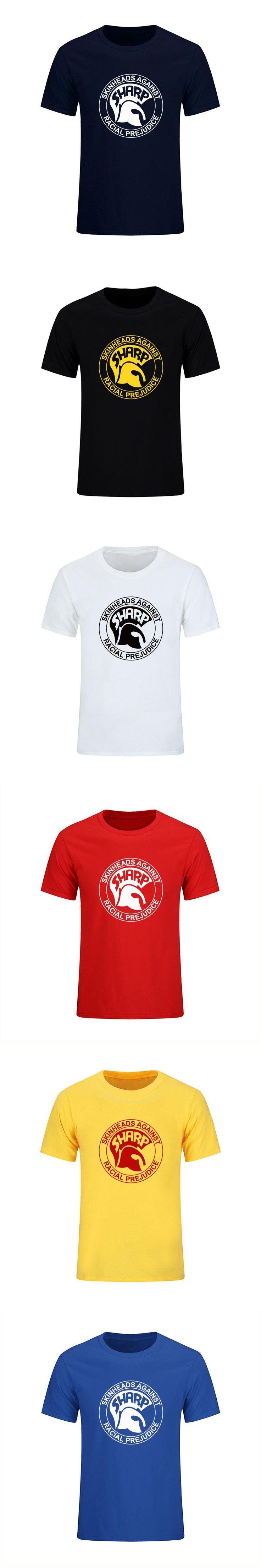2017 New Skinhead Logo Printed Men Cotton T Shirt Hip Hos Short Sleeve Tops Tees Casual Male Jumper Clothing Camisetas Masculina
