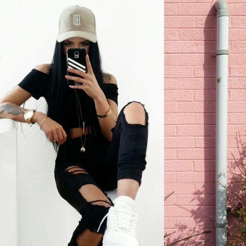 kimberlyo: Order now: -Cap -cropped top -pantsWww.blackdope.de @blvckd0pe.clothing