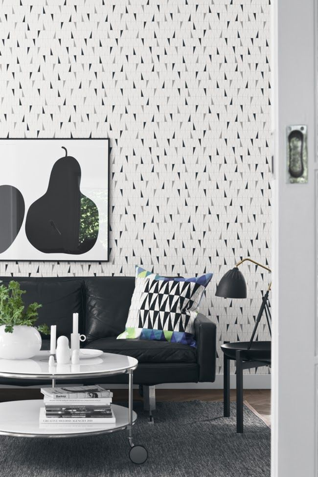 17 Best images about Wallpaper Living Room on Pinterest Sacks