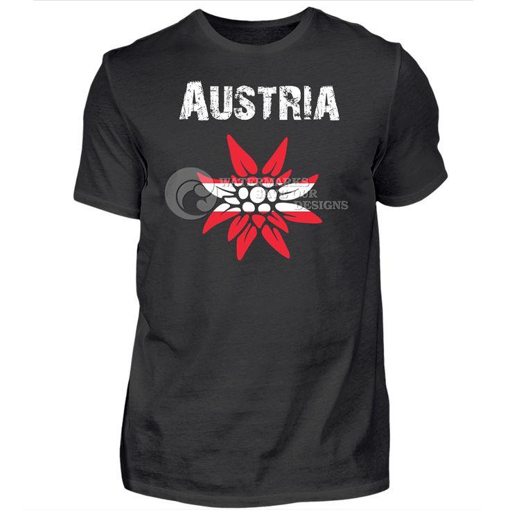 AUSTRIA | EDELWEISS ⬛  Ein Shirt für alle Österreich-Fans. Das ultimative Design für Sport, Fans, Urlaub, Tourismus, Party und Wiederverkauf ⬛  👀 Schau doch mal in unserem Shop vorbei: https://shop.spreadshirt.de/BalticDesignStudio ⬛⬛  A shirt for all fans of Austria. The ultimate shirt for sports, fans, holidays, tourism, party and resales ⬛  👀 Please look at our shop: https://shop.spreadshirt.com/BalticDesignStudio