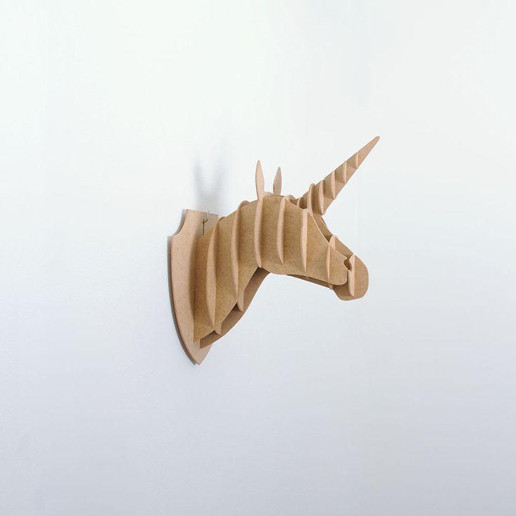 Troféu MDF Unicornio Liso P