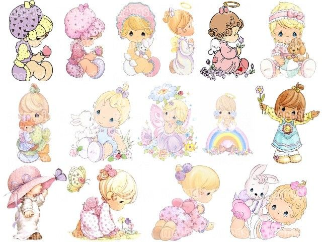 Precious Moments Images Clipart | Invitaciónes Baby Shower Niña Precious  Moments   Imagui