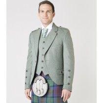 Lovat Green Tweed Jacket & Waistcoat