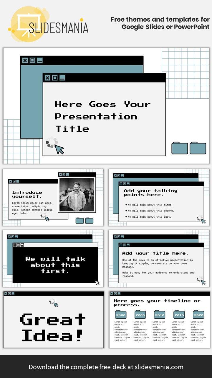 Paterson Free Template For Google Slides Or Powerpoint Presentations Desain Presentasi Desain Web Templat Power Point Free template for google slides
