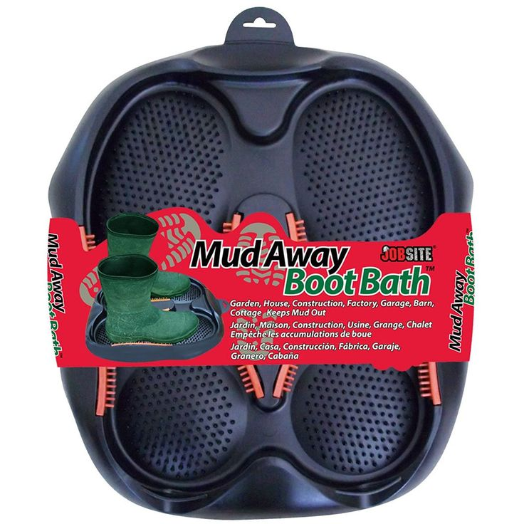 Now available on our store: JobSite Mud Away ... Check it out here!! http://www.tribbledistributionss.com/products/jobsite-mud-away-boot-bath-clean-scrub-scrape-off-boots-and-shoes-so-your-home-stays-clean?utm_campaign=social_autopilot&utm_source=pin&utm_medium=pin