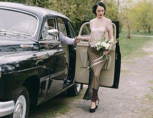 retro, photo, wed, wedding, свадьба, стиль, ретро, машина, невеста, букет