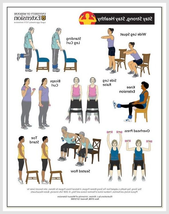 119 Reference Of Seniors Chair Exercises Printable Pdf In 2020 Chair Exercises Exercise Yoga Poses Chart