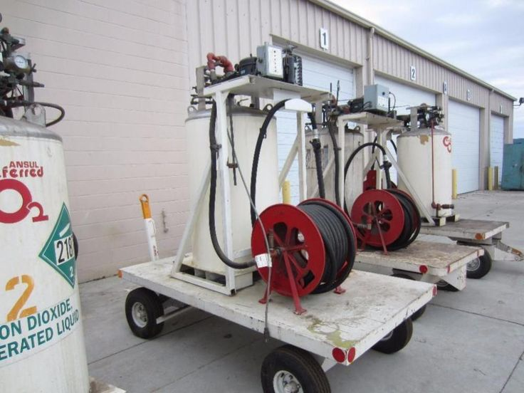 Ansul Preferred CO2 Extinguisher - Online Auction Ending March 30, 2015. Hansen & Young, Inc. Oshkosh, Wisconsin.