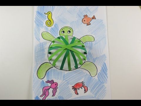 DIY Learn How to Make Underwater Creatures Craft. Easy Crafts for Kids - YouTube