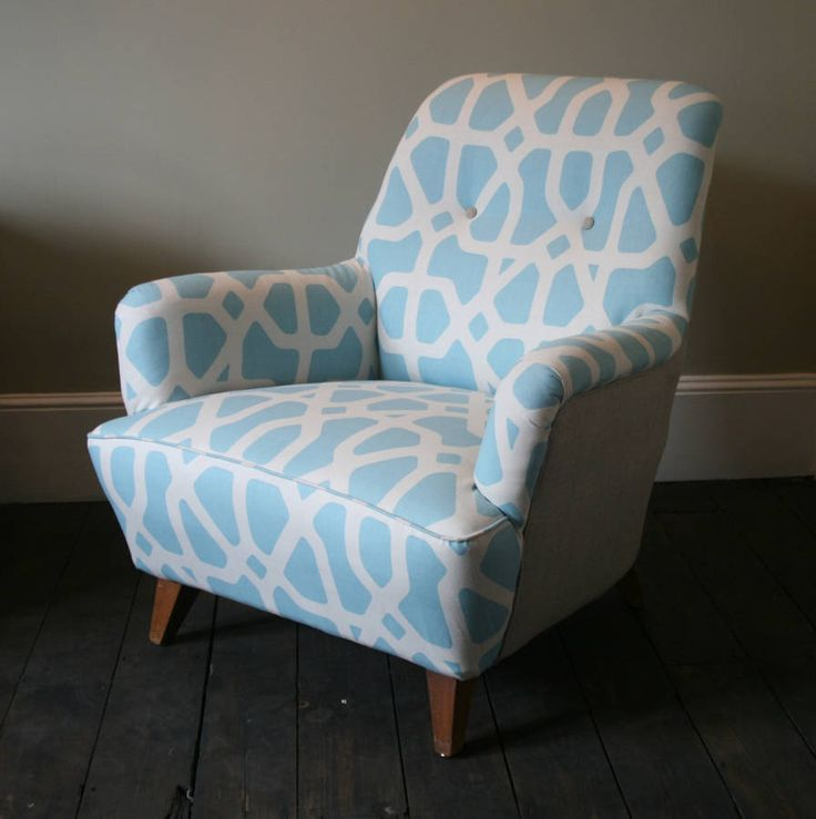 1960's vintage chubby armchair by hickey and dobson | notonthehighstreet.com