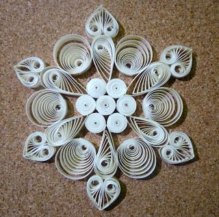 Beautiful world: More quilling.... encore du papier roulé....