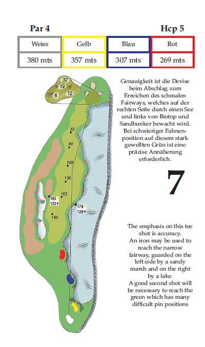 Tee 7 Golfclub Gut Altentann in Salzburg