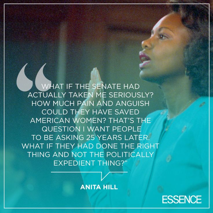 Melissa Harris Perry interviews Anita Hill 25 years after the controversial sexual harassment hearings that would change the country forever. | essence.com