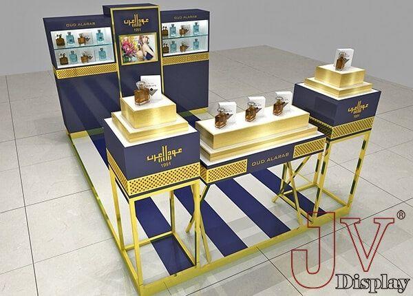 Perfume Display Kiosk Bahrain Perfume Display Custom Displays Decor Display