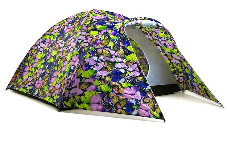 Butterfly Collector Solar Powered Tent from The Stylish Camping Company