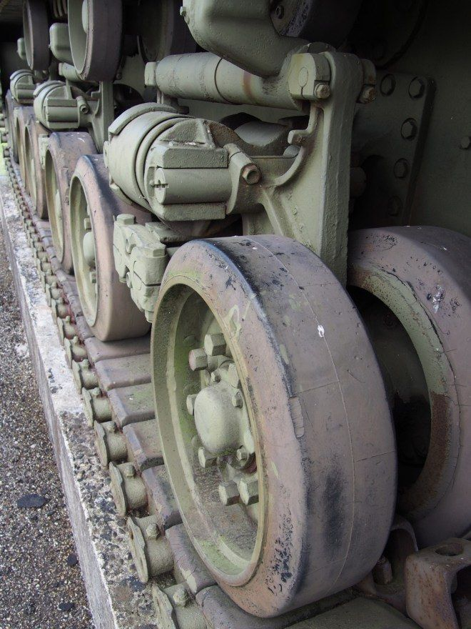 Detalhe do Tanque de Guerra na Casemate Esch na Ligne Maginot