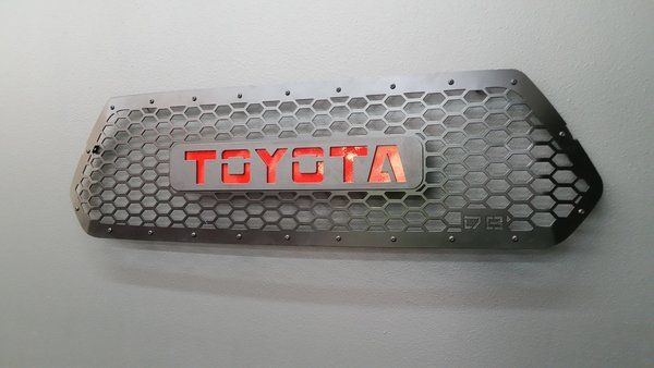 2016 Tacoma Grille Insert / without Led Cube Cutouts