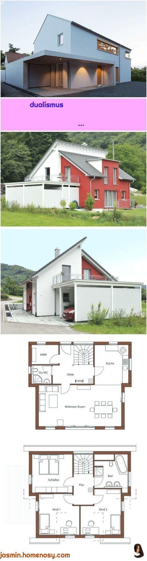 dualismus 1. Architektur Carport Einzelhaus