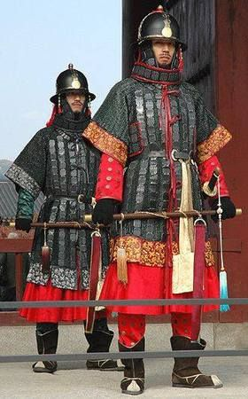 Korean mail&plate Joseon dynasty