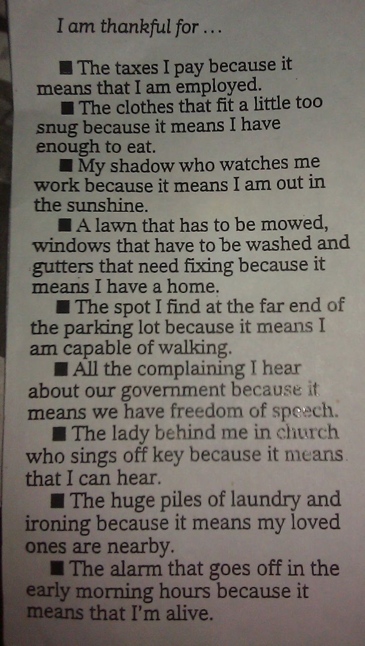 I love this. Always on the sunny side.