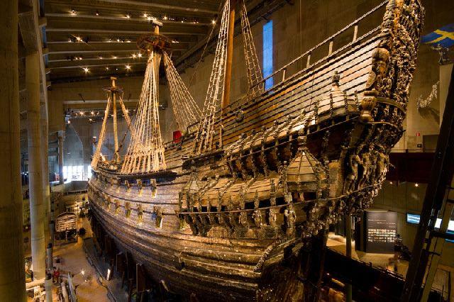Vasa Museum, Stockholm. July 2012