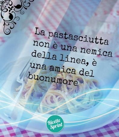 La pastasciutta non è una nemica della linea, è un'amica del buonumore - #food #pasta