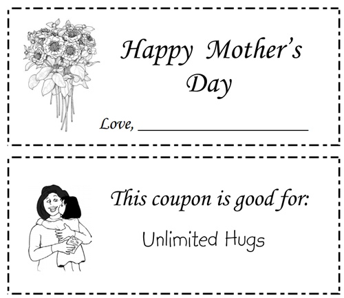 33 best images about Mothers Day – Free Coupon Book Template