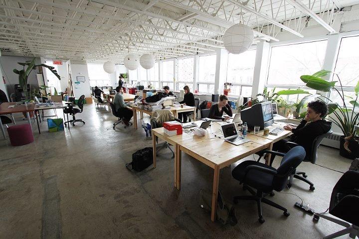 Natural Light meets open Office