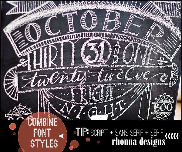 17 best images about halloween chalkboards on pinterest illustrators halloween zombie and for Chalkboard font ideas