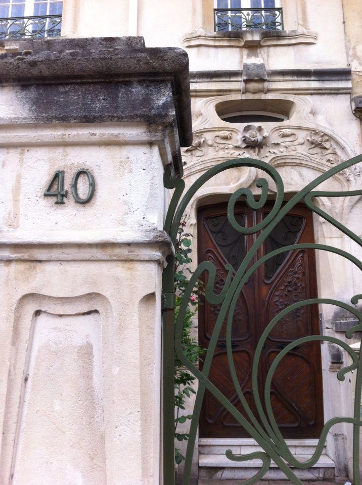 Parcours 6 En longeant la voie ferrée - Les Visites de Lucie à Nancy - visites guidées itinérantes à la découverte du patrimoine architecturale de style Ecole de Nancy