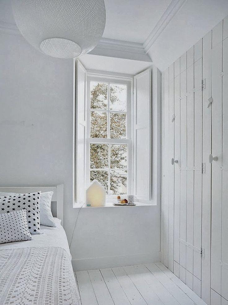 Inspiracion dormitorio en blanco, muebles dormitorio en blanco, ideas dormitorio en blanco