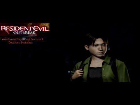 Resident Evil Outbreak Scenario 3 The Hive - YouTube