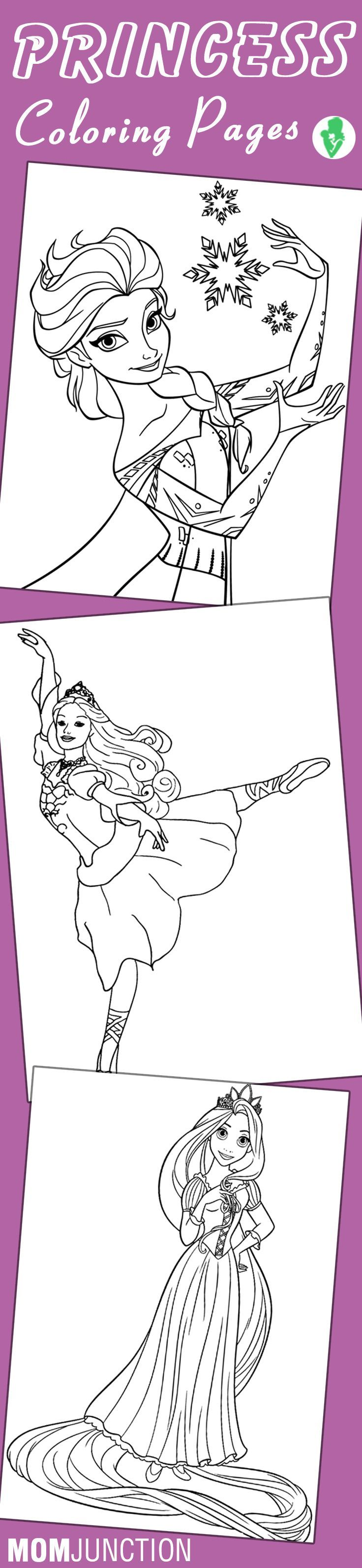 Online coloring mobile - Top 25 Free Printable Princess Coloring Pages Online