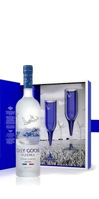 Coffret vodka Grey goose | Acheter coffret vodka | Côté apéritif