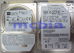 """Lot (12) 80GB Name Brand Laptop Hard Drives IDE 2.5"""" TESTED Working"""