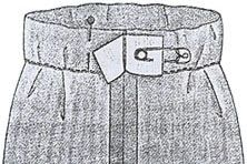 Делаем пояс юбки на резинки
